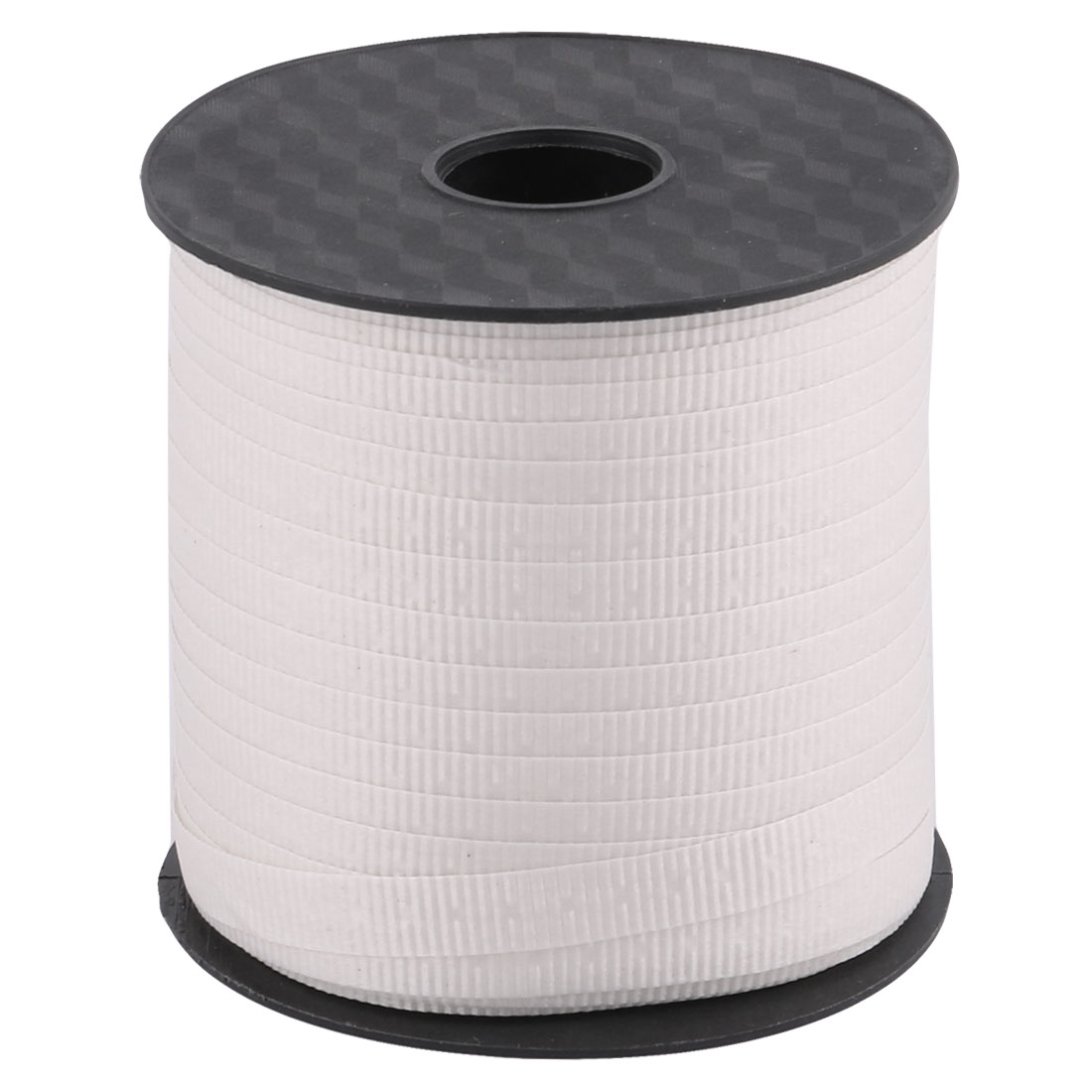 Unique Bargains Party Polyester Gift Packing String Balloon Tied Rope Ribbon Roll White 75 Yards