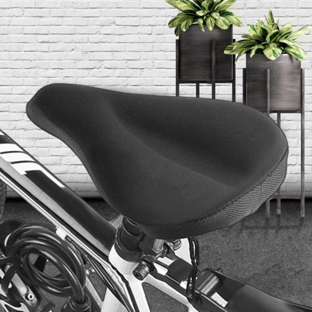 3D Soft Silicone Gel Bike Seat Saddle Cushion Cover