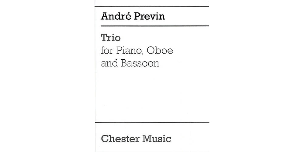 Chester Music Trio for Piano, Oboe and Bassoon Music Sales America Series by Andre Previn by Chester Music