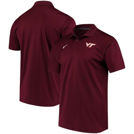 Virginia Tech Hokies Nike Collegiate Varsity Performance Polo - Maroon (Nike Tech Core)