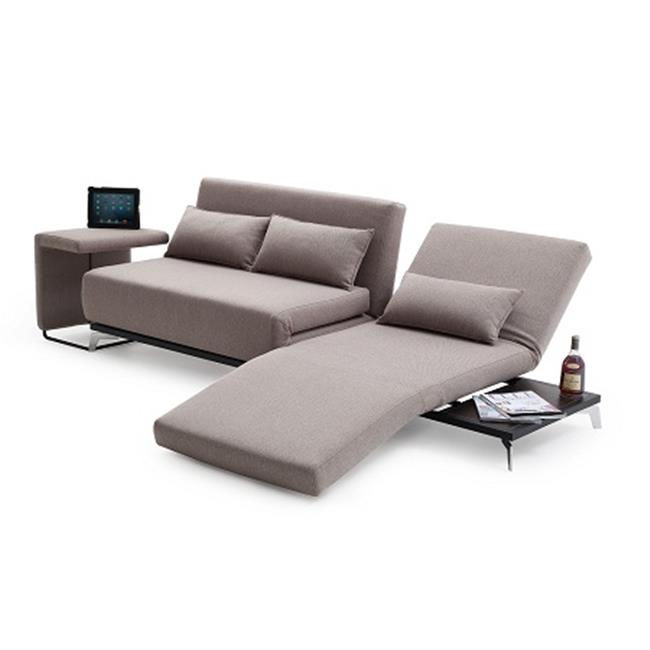 J & M Furniture ET Premium Sofa Bed End Table JH033 Biege Walmart