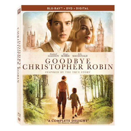 Goodbye Christopher Robin (Blu-ray + DVD + - Naughty Robin