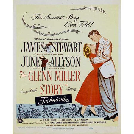 The Glenn Miller Story (1954) 11x17 Movie Poster - Glenn Miller Halloween
