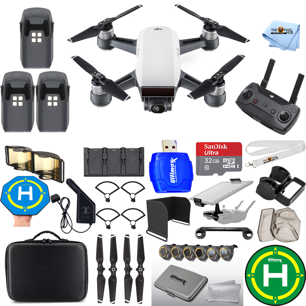 UNASSIGNED DJI Spark Fly More Combo EXTREME 3 BATTERY BUN...