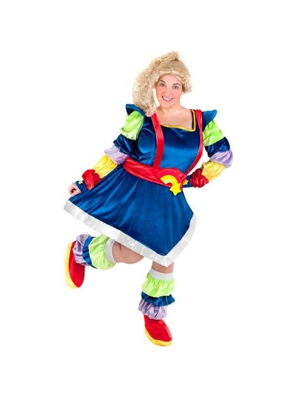 Adult Plus Size Rainbow Bright Inspired Costume  sc 1 st  Walmart : toddler rainbow brite costume  - Germanpascual.Com