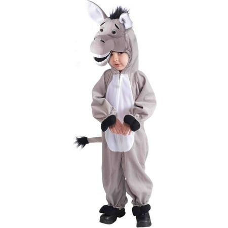 Child's Stuffed Plush Donkey Mascot Costume - Halloween Stuffs