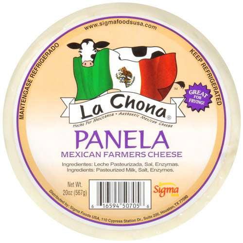 LA Chona Mexican Farmers Cheese Panela, 20 oz