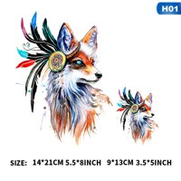 KABOER 1Pc Creative Horse Patches For Jeans Fashion Clothes Stickers Iron On Patches A-Level Washable Heat Press Appliqued Beautiful