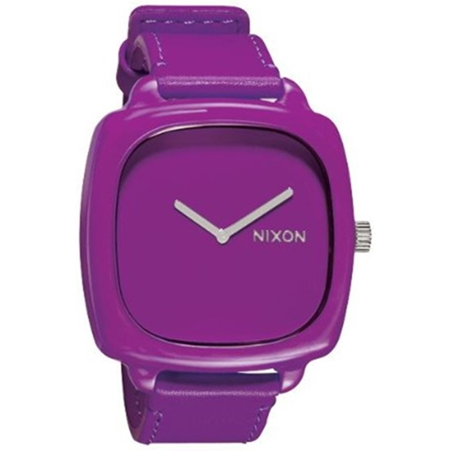 Nixon Women's Shutter A167698 Purple Leather Quartz Fashion Watch