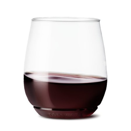 14oz Vino Plastic Wine Glasses Set of 12 - TOSSWARE
