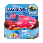 Baby Shark Sing & Swim Mommy Shark Robotic Bath Toy [Pink]