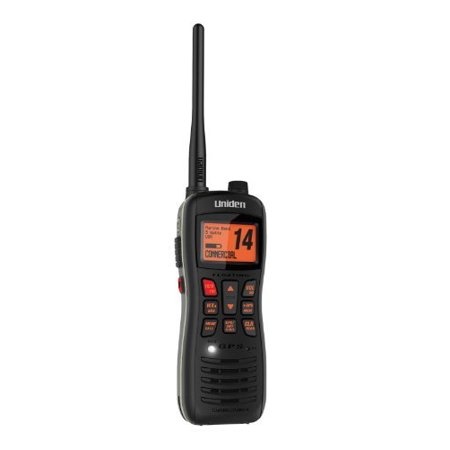 Uniden Mhs235 Submersible Handheld Dsc Marine Radio   For Marine With Noaa All Hazard  Weather Disaster   Vhf  Wx   Specific Area Message Encoding  Same    2 Marine16 9 Instant   Handheld  Mhs235