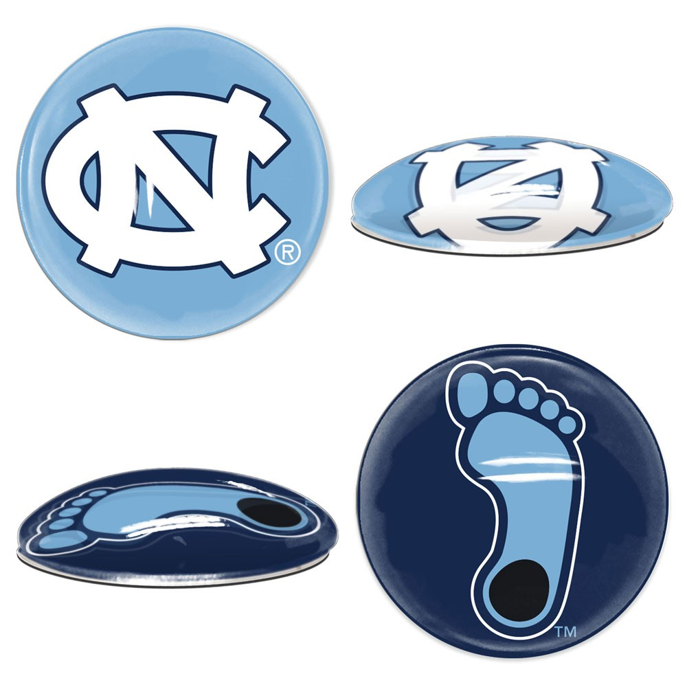 North Carolina Tar Heels Official NCAA  Sport Dotts Magnet 2 Pack by Wincraft