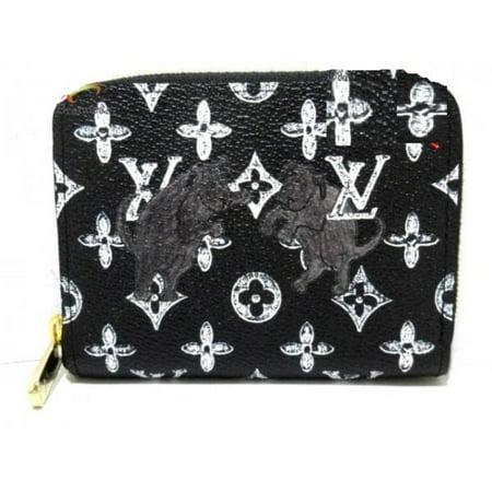 Louis Vuitton Grace Coddington Catogram Monogram Zippy Wallet Compact 235485