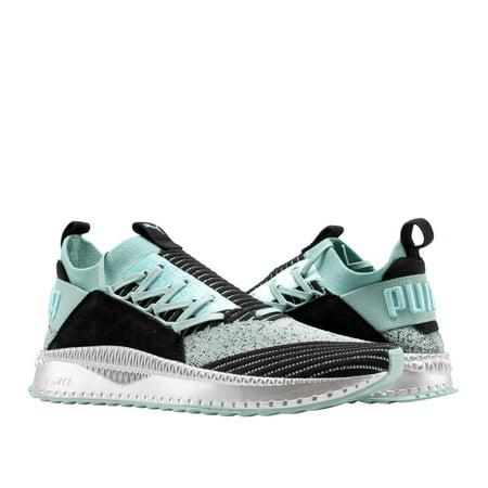 Puma TSUGI Jun TD Aquifer-Black-Silver Men's Casual Sneakers - Puma Men Footwear Sneakers