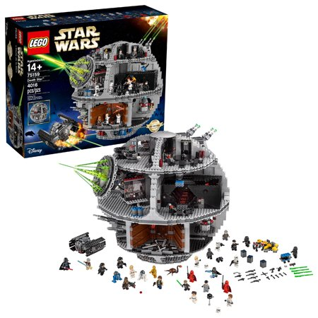 LEGO Star Wars Death Star 75159 Space Toy Building Kit (4016