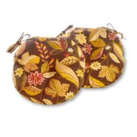 Greendale Home Fashions Timberland 15'' Outdoor Bistro Chair Cushion, Set of 2