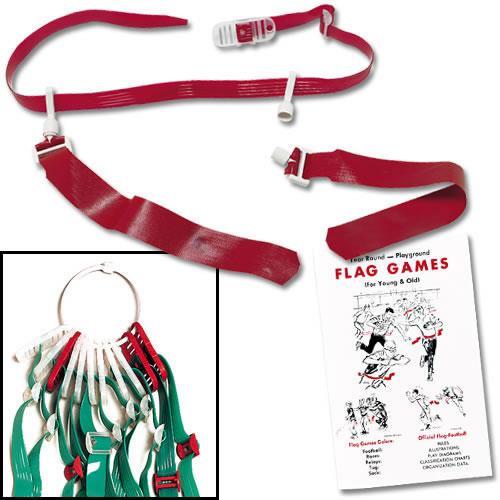 "Flag-A-Tag 42"" Sonic Flag Football Complete CUSTOM Program Kit (Set of 24) by Flag-a-Tag"