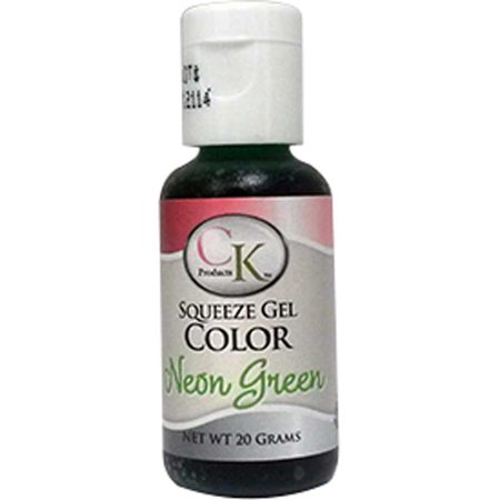 Neon Green Gel Food Coloring - CK Products - 20 grams