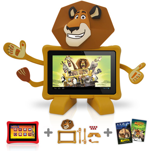 "Nabi 2  7"" Tablet with 8GB Memory - Madagascar Bundle Pack"