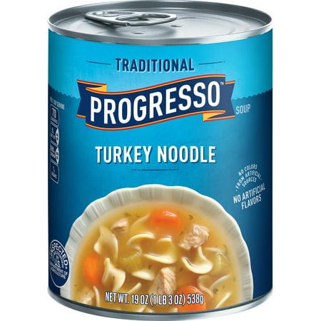 Progresso Traditional Turkey Noodle Soup, 19 oz