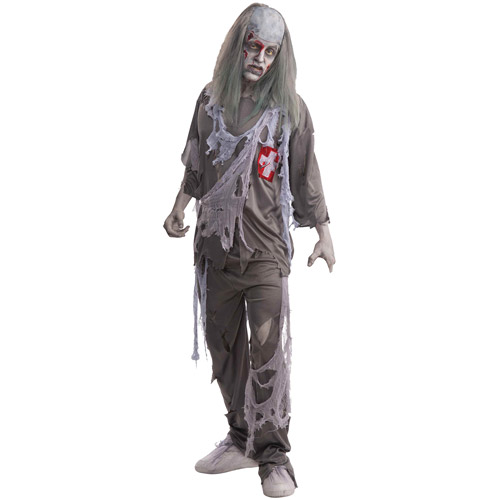 Zombie Doctor Adult Halloween Costume - One Size