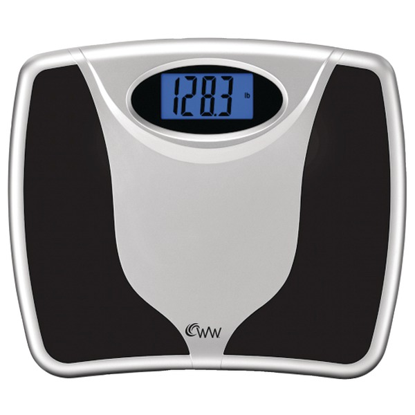 Weight Watchers Digital Bath Scale with Backlight