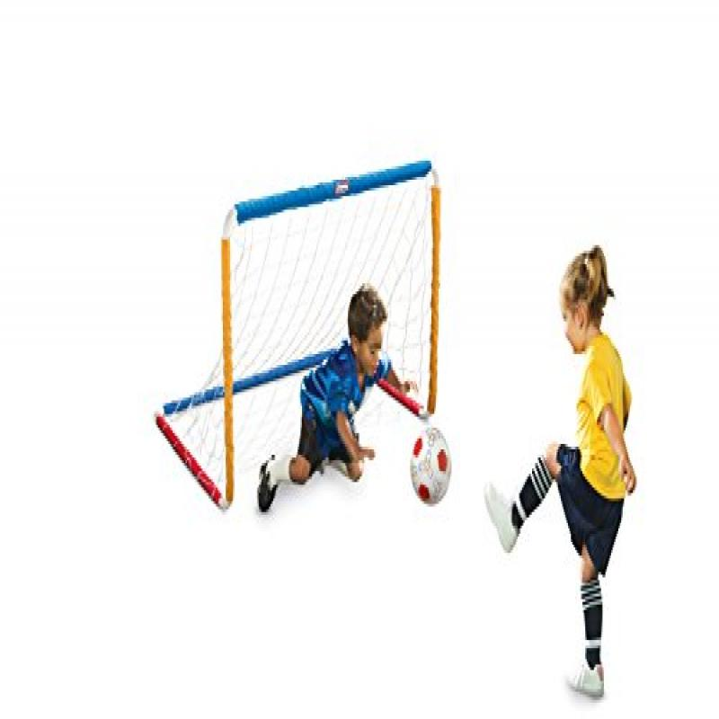 Little Tikes Easy Score Soccer Set, Primary Colors by