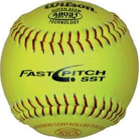 Olympia Sports BA232P Wilson 12 in. fast Pitch League-Practice