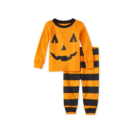 2 Types Of Girls During Halloween (Halloween Baby & Toddler Boy or Girl, Unisex Long Sleeve Pajamas, 2 Piece)