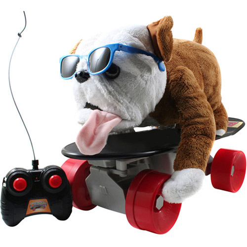 Jada Toys Buddy the Skateboarding Dog, Remote-Controlled