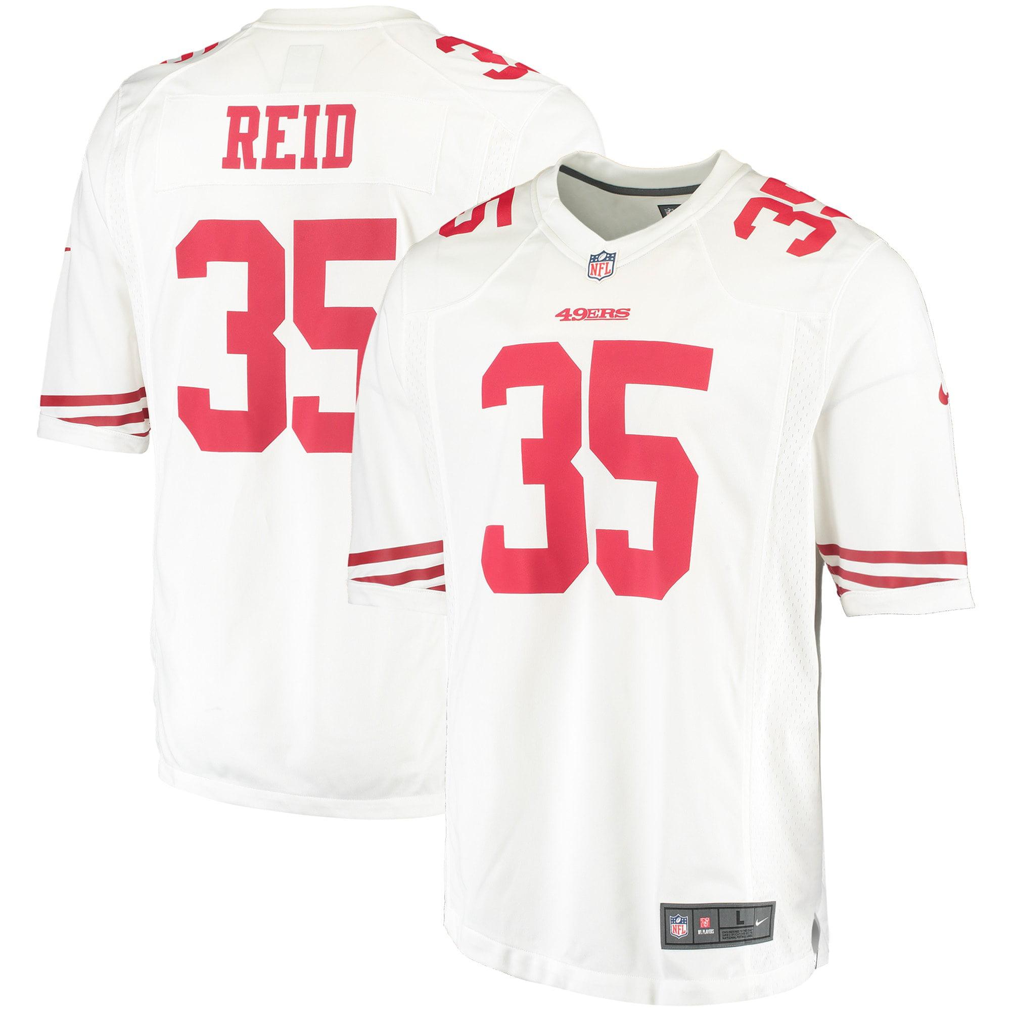 Eric Reid San Francisco 49ers Nike Game Away Jersey - White - Walmart.com