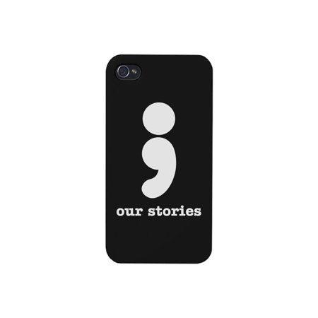 Our Stories iPhone 4 Phone Cover Black Cute Matching Phone Cases