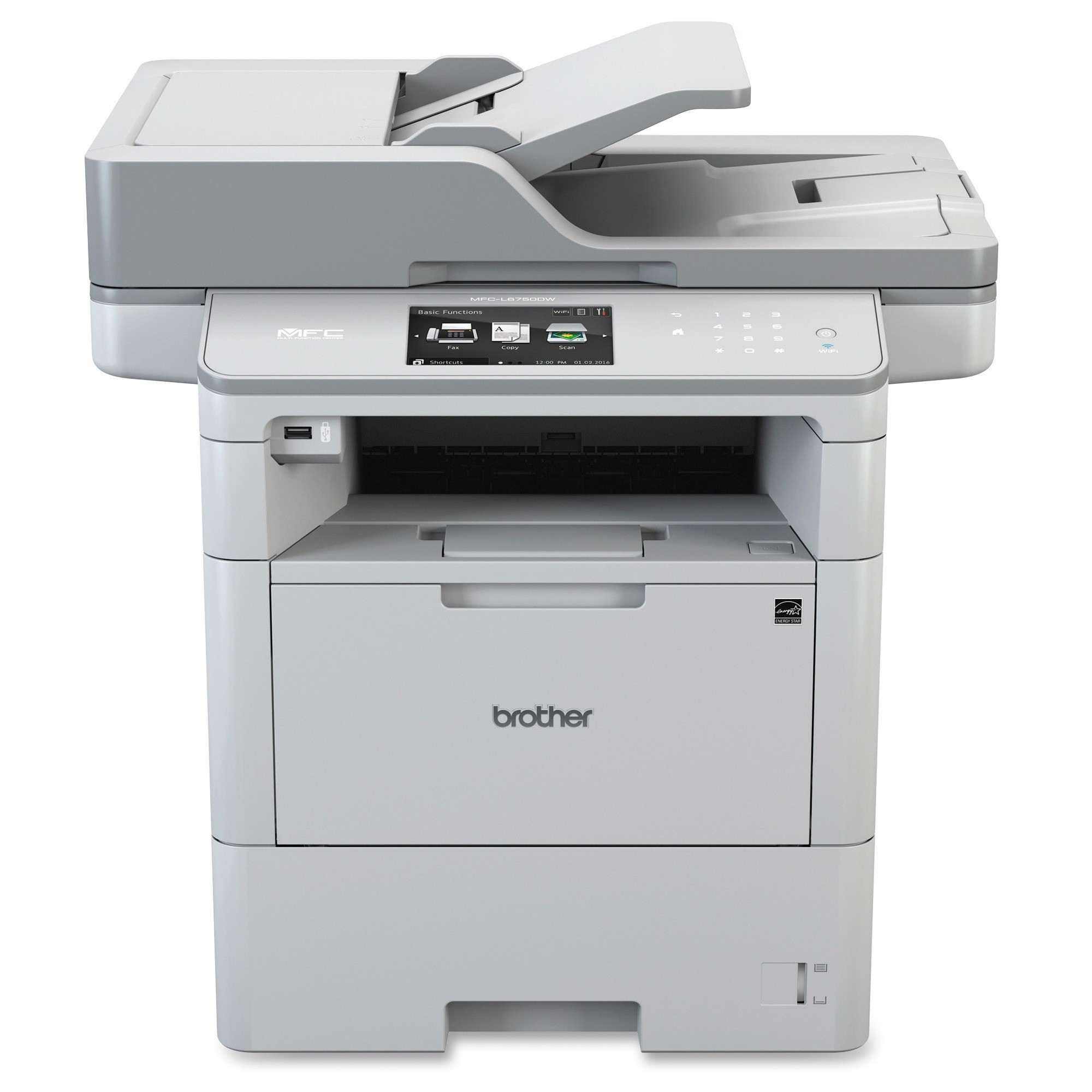 Brother MFC-L6750DW Laser Multifunction Printer Monochrome (Refurbished) by Brother