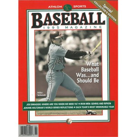 Athlon Ctbl 013039 Mike Schmidt Unsigned Philadelphia Phillies Sports 1995 Mlb Baseball Special Collectors Edition Magazine