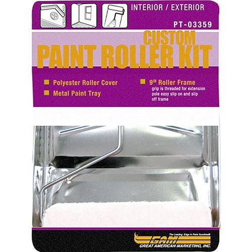 Gam PT03359 3-Piece Paint Roller Kit