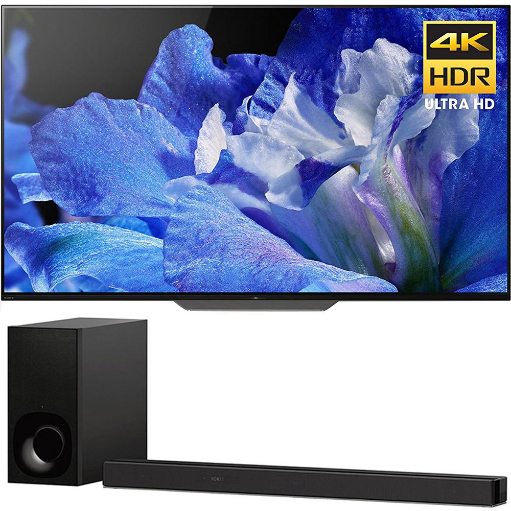 Sony 55-Inch 4K Ultra HD Smart BRAVIA OLED TV 2018 Model (XBR55A8F)...