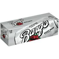 Barq's Root Beer Soda, 12 Fl. Oz., 12 Count