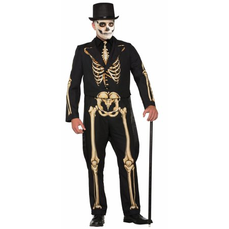Skeleton Formal Costume - Adult (Skeleton Horse Costume)
