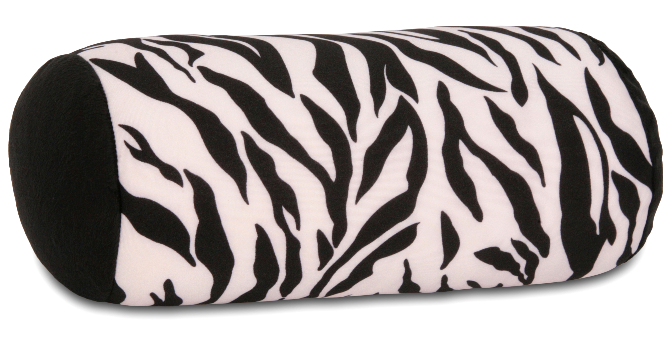 Deluxe 2 & 1 Travel Squish Microbead Pillow Wild by Living Healthy Products