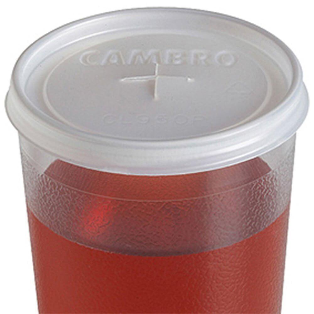 CL950P190 Colorware Disp. Lid for Tumbler #950P2 - 1000 / CS, Cambro disposable lids By Cambro