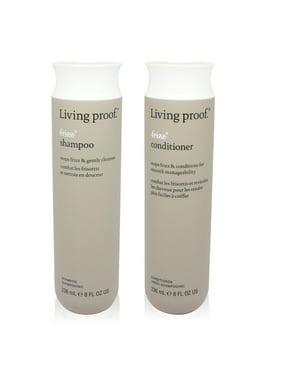 Living Proof No Frizz Shampoo and Conditioner Combo Set Each 8 oz.