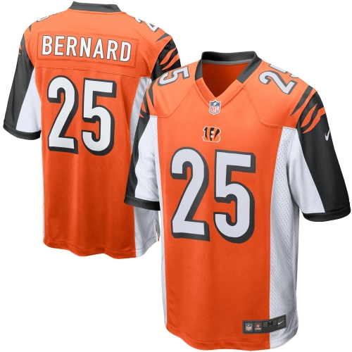 Giovani Bernard Cincinnati Bengals Nike Alternate Game Jersey - Orange