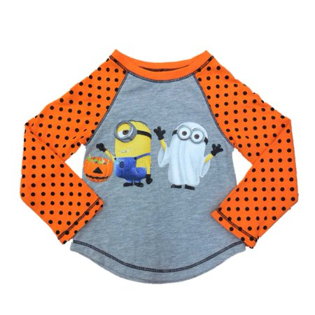 Despicable Me Infant & Toddler Girls Orange Minion Ghost Halloween - Girl Minion From Despicable Me