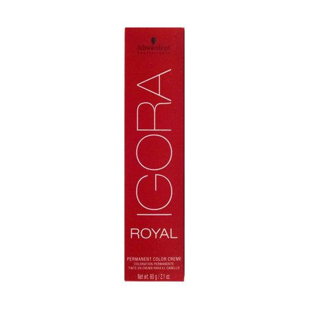 Igora Royal 1-0 Black - Schwarzkopf Color - (Best Professional Blue Black Hair Dye)