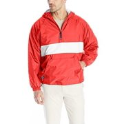 Charles River Apparel Men's Classic Striped Pullover, Red/White, Medium