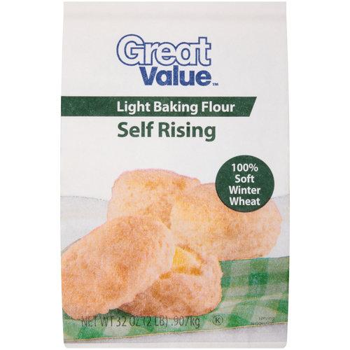 Great Value Self Rising Light Baking Flour, 32 oz