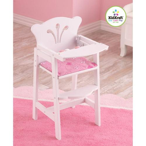 KidKraft Lil' Doll Wooden High Chair