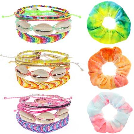 Girls VSCO Bracelets, VISCO Girl Stuff, VSCO Scrunchies & Spiral Hair Coils