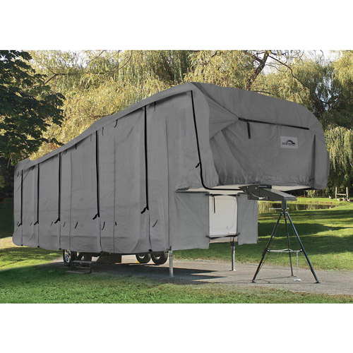 Camco UltraGuard 32' 5th Wheel Trailer Cover, Gray